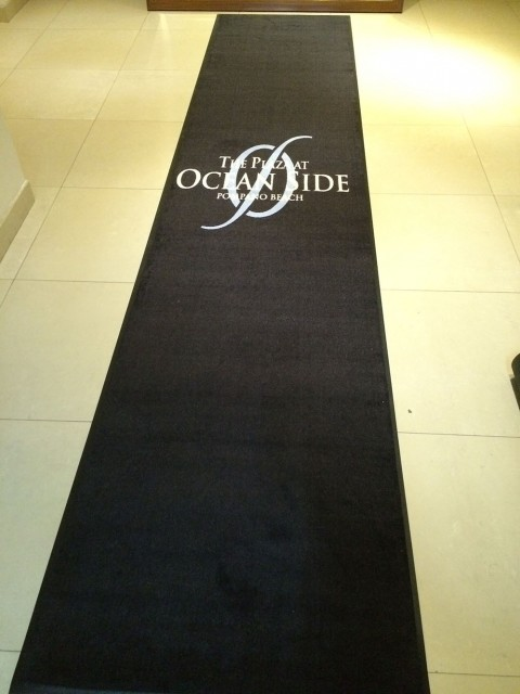 logo floor mats for oceanside of pompano beach, fl